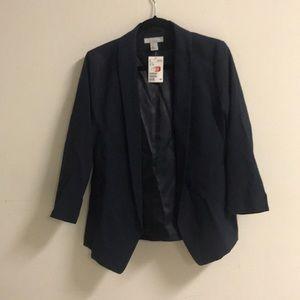 H&M Loose Fit Navy Blazer NWT ⭐️🍎